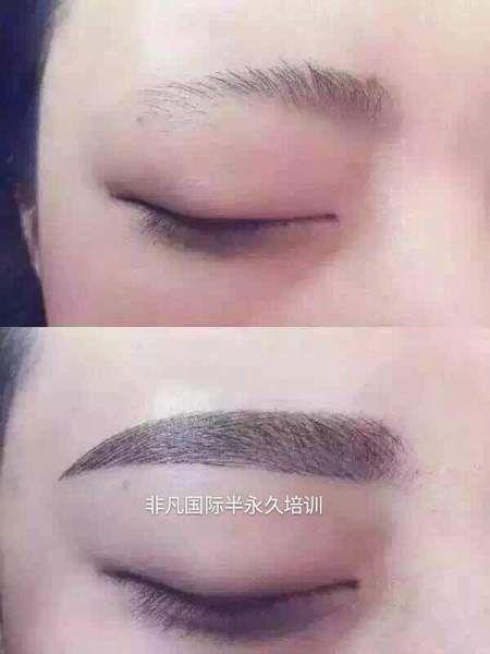 韩式半永久眉眼唇,小纹身培训