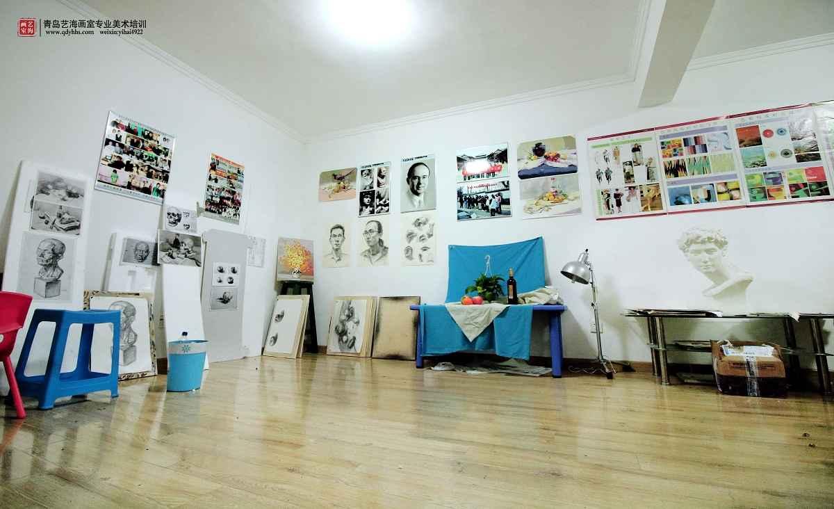 美术画室设计图