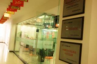 扬州沃的英语培训中心 展示墙