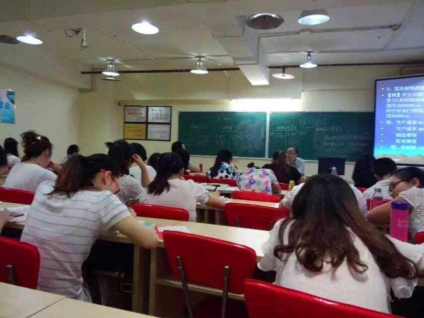 重庆麦积会计培训学校上课