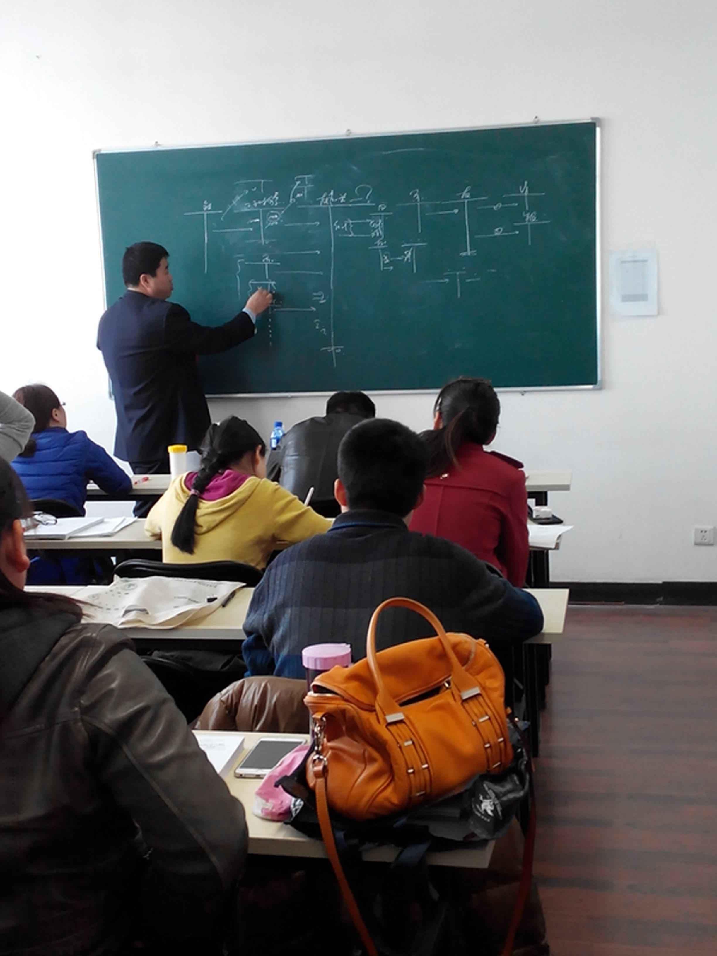 北京今日升会计培训学校 上课教室