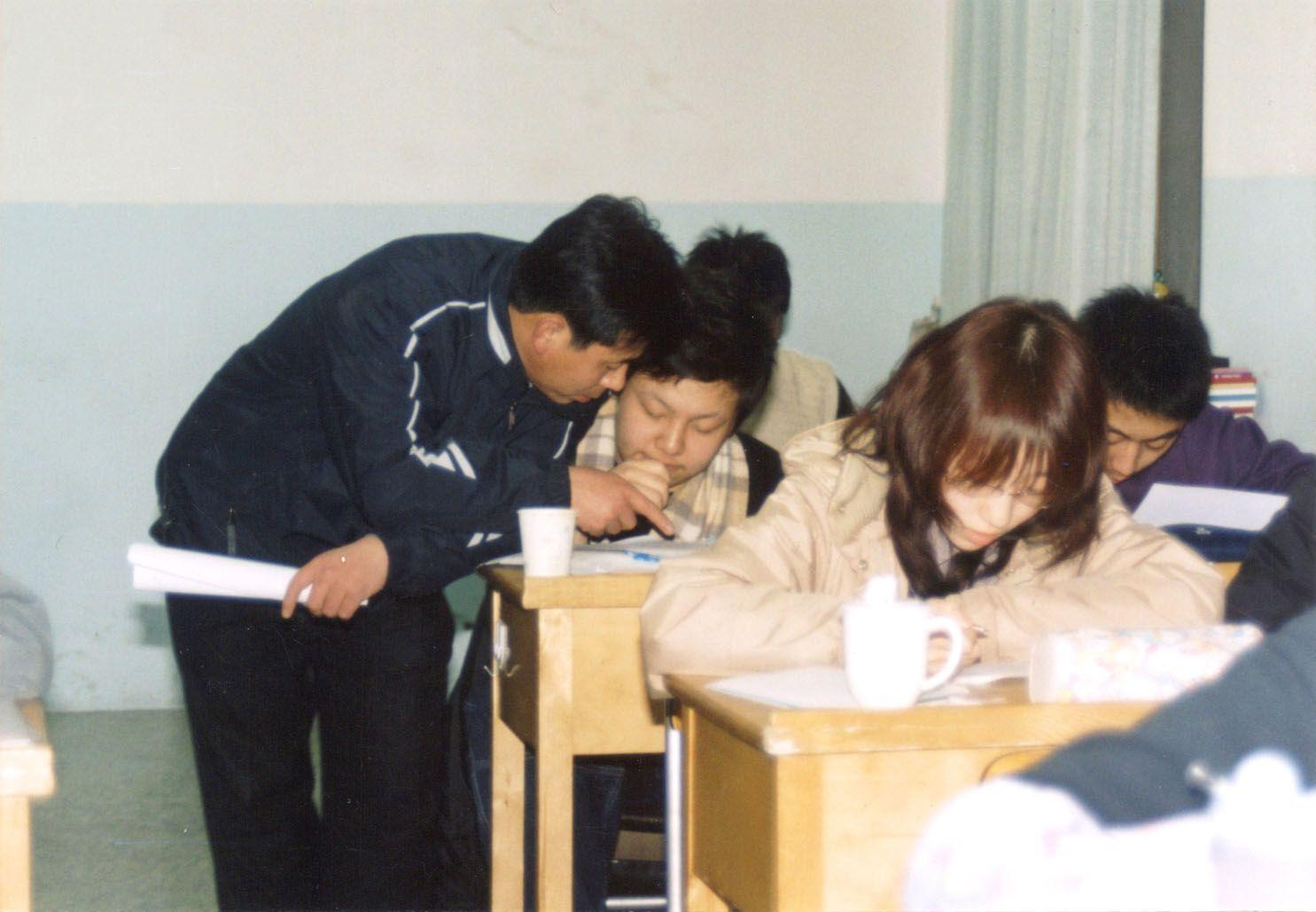 北师特高考复读学校 授课课堂