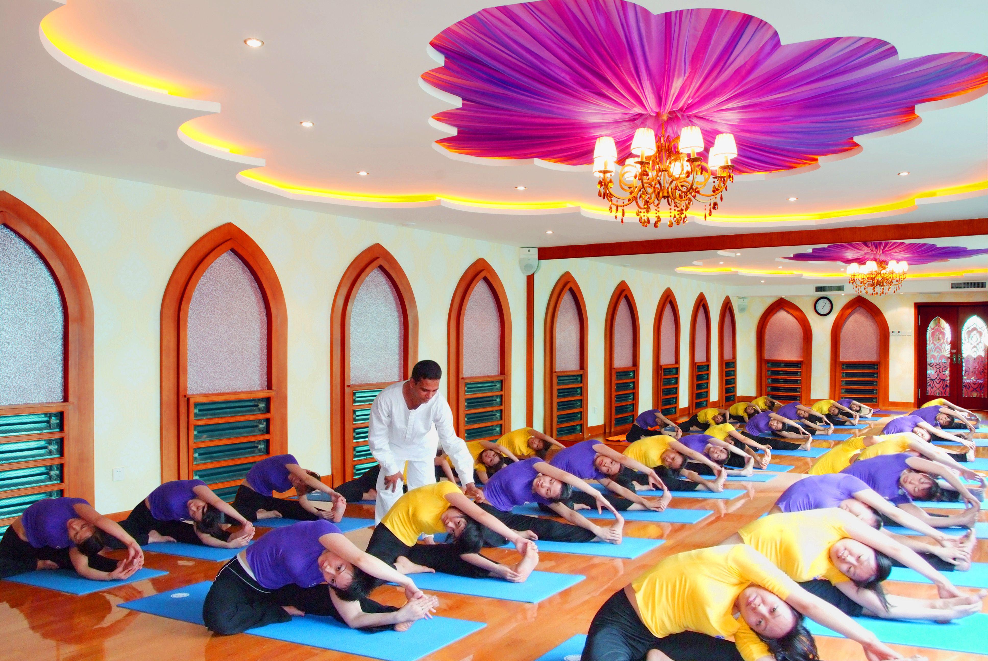 初中瑜伽教练连读课程