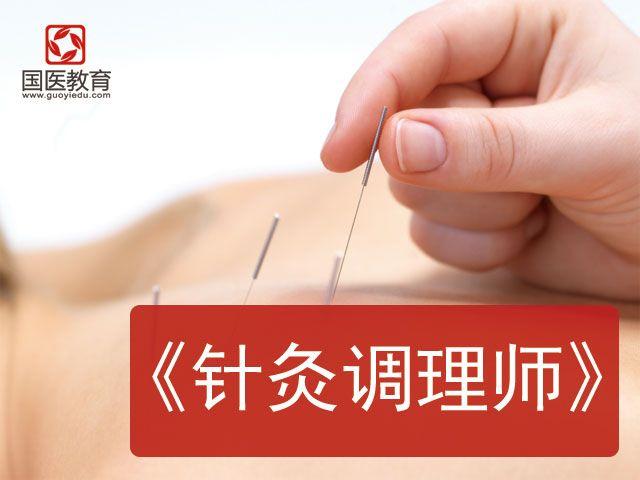 全国招生《中医针灸调理师培训班》