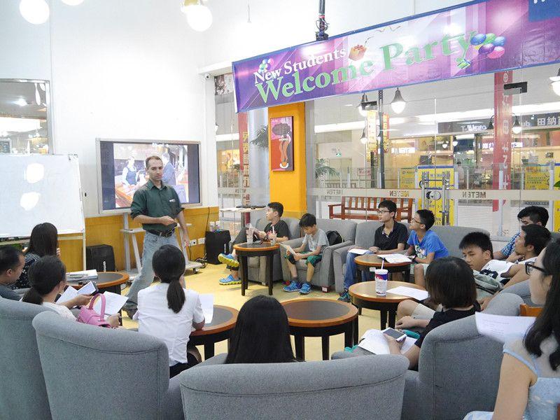 西安美联英语学习氛围