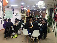 天津创世英语培训学校  万圣节